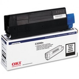OKI Toner 43034804 Black Original (Low Yield) -  (OKI). Αυθεντικό Toner Black για τα OKI C3200, C3200N grammashop.gr
