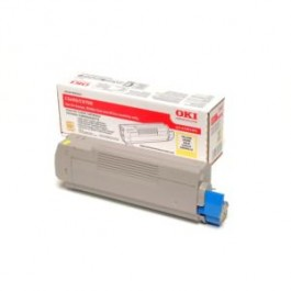 OKI Toner 43381905 Yellow Original -  (OKI). Original Toner Yellow για τα OKI C5600, C5700 grammashop.gr