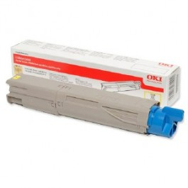 OKI Toner 43459329 Yellow Original (High Yield) -  (OKI). Original Toner Yellow για τα OKI C3450, C3300N, C3300, C3400 grammashop.gr