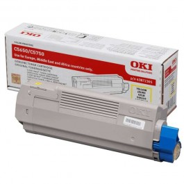 OKI Toner 43872305 Yellow Original  Original Toner Yellow για τα OKI C5650, C5750 grammashop.gr