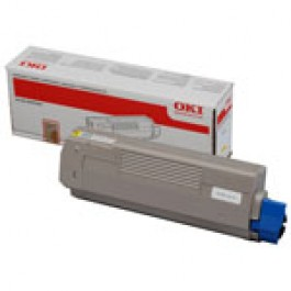 OKI Toner 44059253 Yellow Original (High Yield) -  (OKI). Original Toner Yellow για το OKI MC861 grammashop.gr