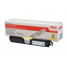 OKI Toner 44250717 Yellow Original -  (OKI). Original Toner Yellow για τα OKI C110, C130, MC160 grammashop.gr