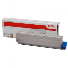 OKI Toner 44844505 Yellow Original -  (OKI). Original Toner Yellow για τα OKI C831N, C831DN, C841N, C841DN grammashop.gr